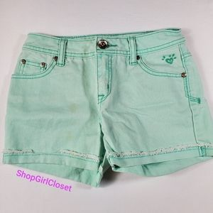 💥Just In💥 Justice Jeans Shorts Girls sz 12s